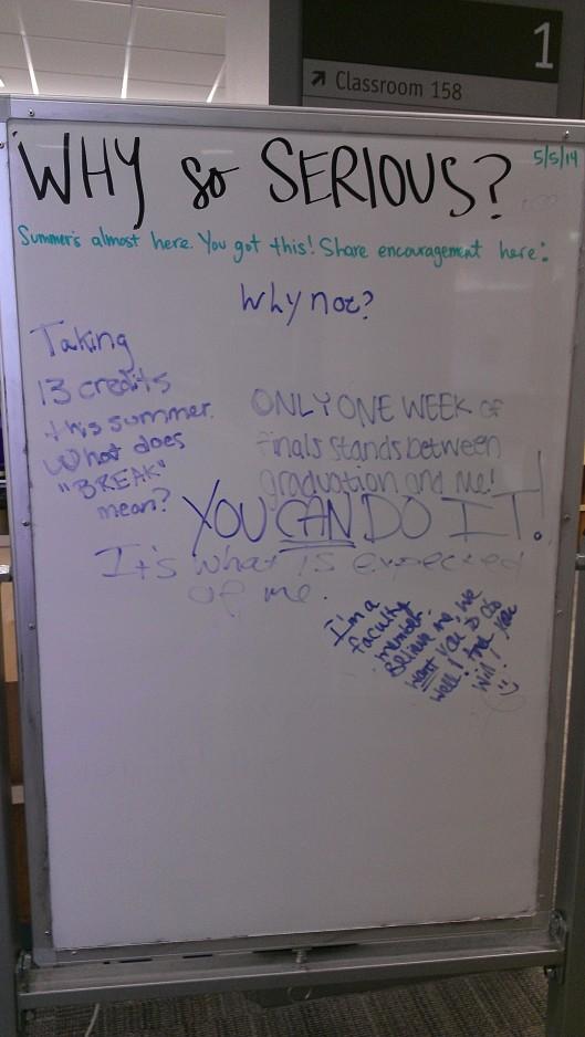 photo of whiteboard