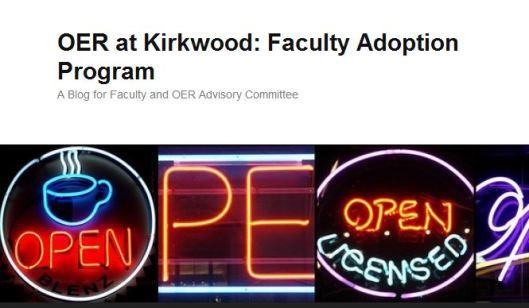 OER at Kirkwood