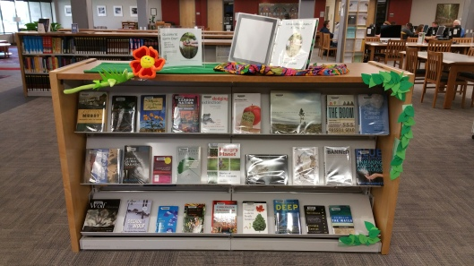 Library Earth Day Display 2015