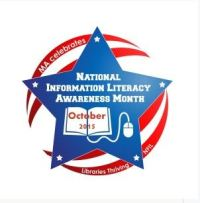 Badge for National Information Literacy Awareness Month