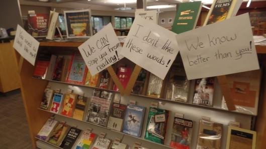 Banned Books Week 2016 Closeup