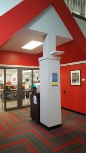 Iowa City Library Entrance