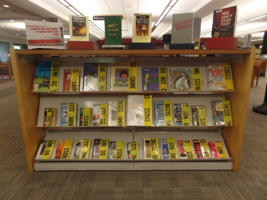 Banned Books Display 2017
