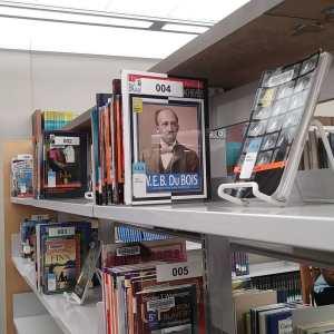 Shelves of ELA books