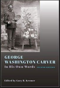 Cover of George Washington Carver in his own words