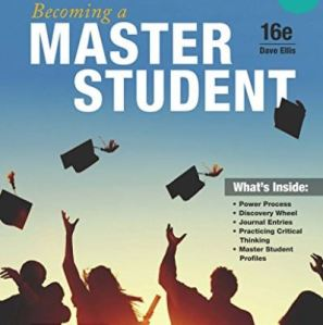 Cover of Becoming a Master Student