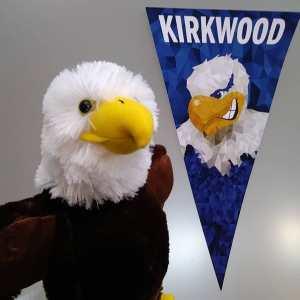 Stuffed Eagle and Pennant