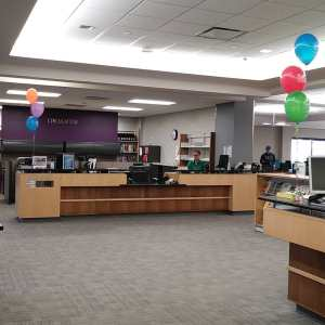Balloons for National Library Week