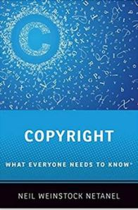 Cover of Copyright What Everyone Needs to Know