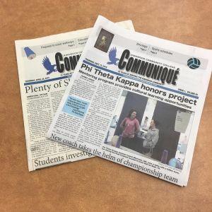 2 issues of Communique