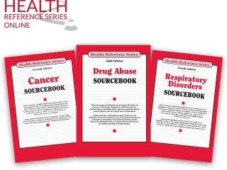 Health Reference Series book covers