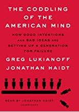Cover of Coddling of the American Mind