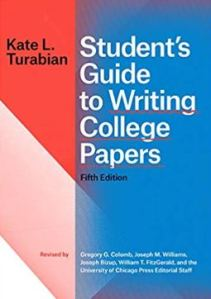 Cover of Student's Guide to Writing College Papers