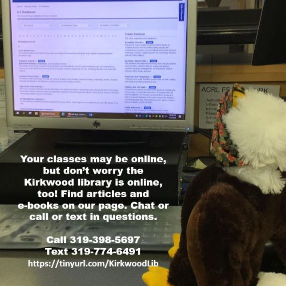 Eggbert the stuffed eagle using online resources
